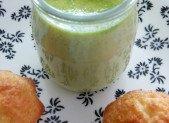 Petits pots de crème pistache