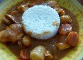 Lotte, noix de Saint-Jacques et crevettes à l'armoricaine
