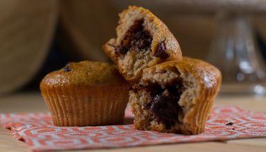 Muffins bananes coeur de pâte à tartiner réduites  (1)