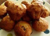Muffins bananes cœurs pâte à tartiner