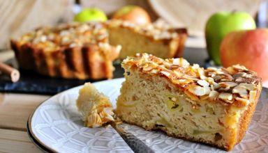 Gâteau au yaourt aux pommes  (5)