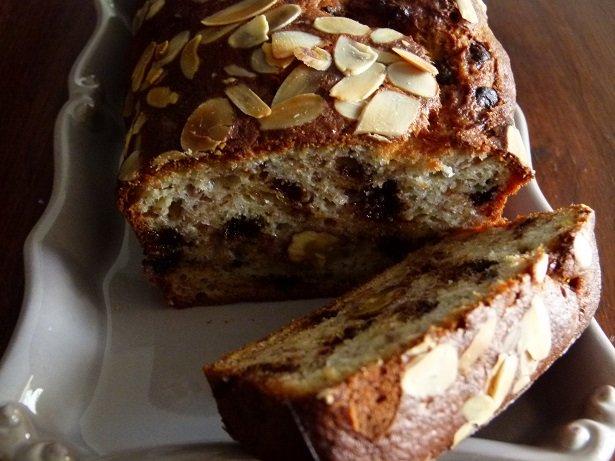 Bananes bread noix et chocolat 004