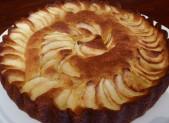 Moelleux aux pommes et à la crème d'amandes