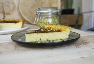 Flan pâtissier pistache (2)