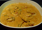 Poulet curry coco et ananas