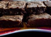 Brownie au chocolat, aux noix et noisettes