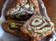Gâteau marbré cacao pistaches
