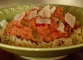 Sauce au thon et aux poivrons pour vos pâtes