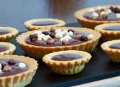 Tarte chocolat praliné