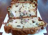 Cake au Roquefort, aux lardons et aux noix