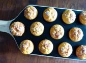 Muffins à la courge Butternut et au parmesan