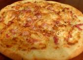 Pizza Reblochon et lardons