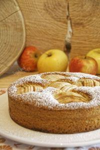 Gâteau pommes serrées réduite  (2)
