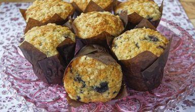Muffins aux myrtilles starbuck (1)