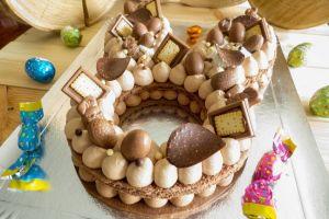 Bunny cake tout chocolat réduit  (3)