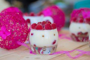 Tiramisu fraises framboises réduites  (6)